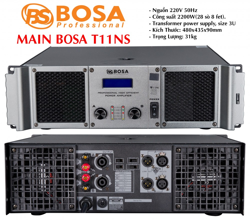 Main Bosa T11NS