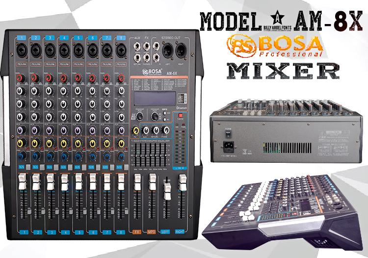 Mixer BoSa AM-8X